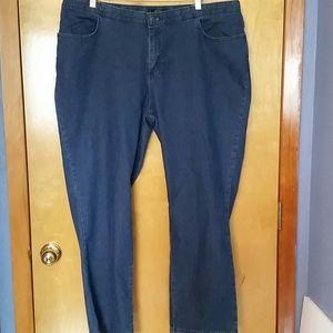 Lee riders blue denim jeans sz 20 w p NWT
